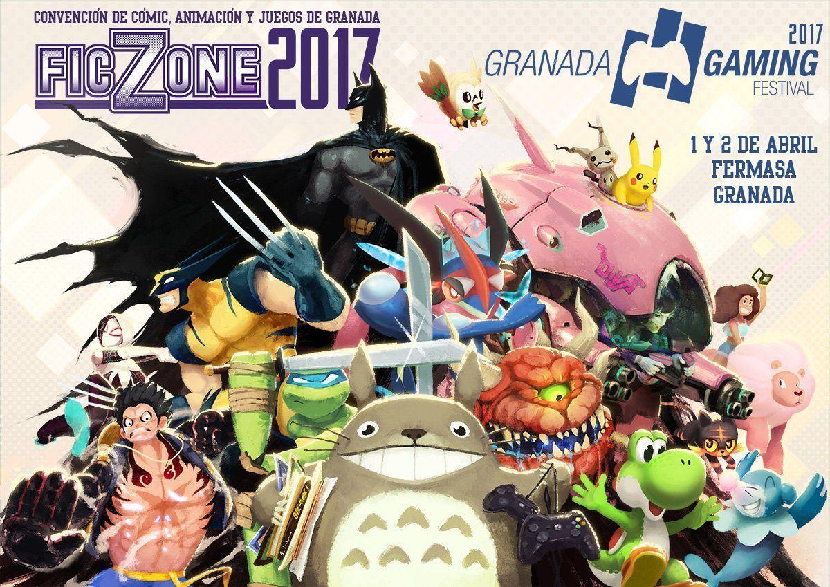 Cartel FicZone granada gaming 2017