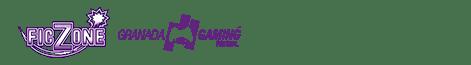 FicZone + Granada Gaming Festival. 27 y 28 abril 2019. FERMASA, Granada Logo