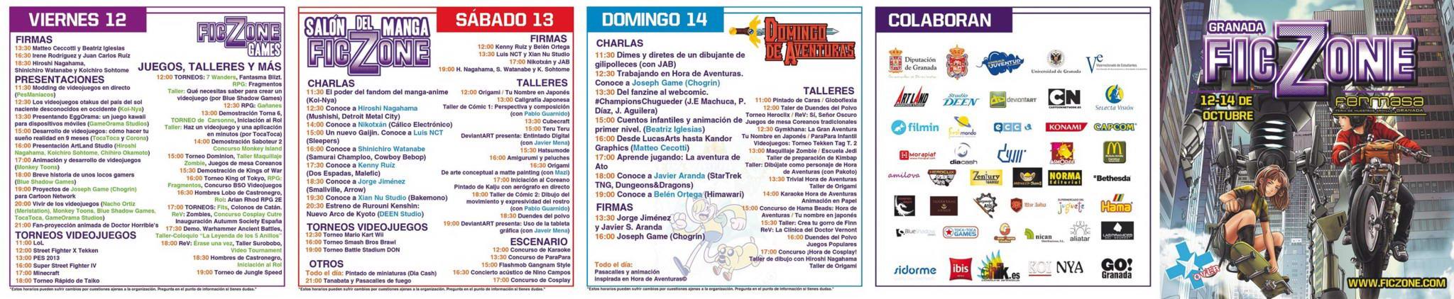 Programa FicZone 2012