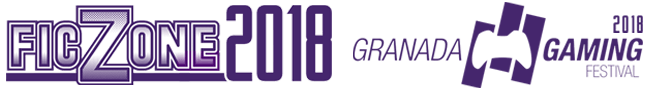 FicZone + Granada Gaming 2018. 10 y 11 de Marzo de 2018 en FERMASA, Granada Sticky Logo Retina