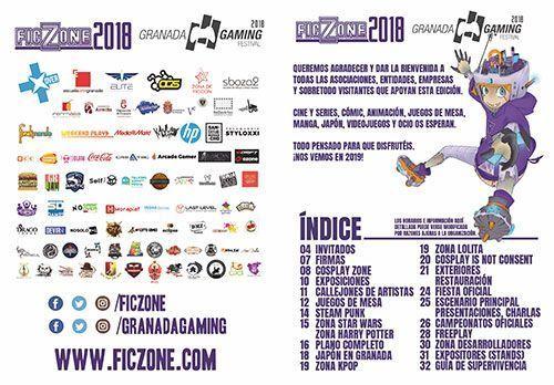 Programa Ficzone Granada Gaming 2018