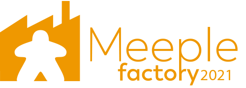 logo meeple factory 2021